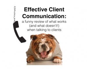 Bash Halow teaches veterinary client communication
